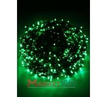Гирлянда на деревья Клип лайт (LED) БЕЗ ТРАНСФОРМАТОРА зеленая