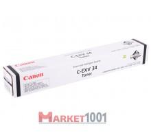 Canon C-EXV34 тонер черный (3782B002)