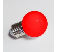 Лампа для Белт лайта 5-и диодная E27 красная