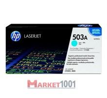 HP Q7581A (503A) тонер-картридж голубой