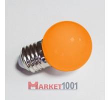 Лампа для Белт лайта 5-и диодная E27 оранжевая