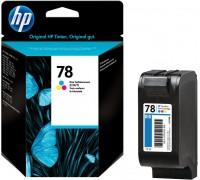 HP C6578D (№78) трехцветный.