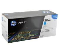 HP CE741A (307A) тонер-картридж голубой