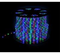 Дюралайт светодиодный круглый 3-х проводной мульти