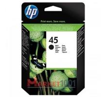 HP 51645AE (45) картридж черный.