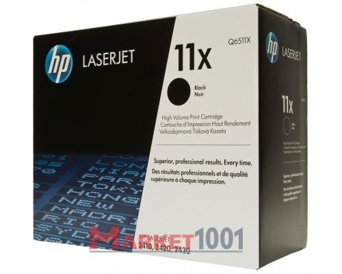 HP Q6511X (11X) тонер-картридж черный