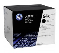 HP CC364XD (64X) тонер-картридж черный двойная упаковка