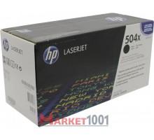 HP CE250X (504X) тонер-картридж черный