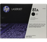 HP CF281A (81A) тонер-картридж черный