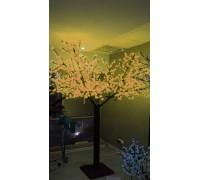 Светодиодное дерево Сакура 2,5x2 м. Желтый