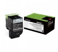 LEXMARK 80C8HK0 (808HK) тонер картридж черный