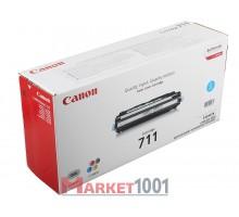 Canon 711C Тонер-картридж голубой (1659B002)
