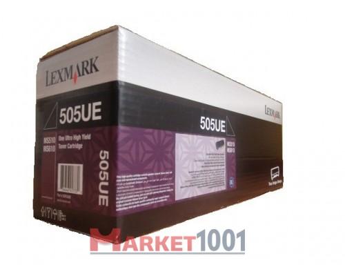 LEXMARK 50F5U0E / 50F5U00 (505UE) тонер-картридж черный