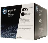 HP Q5942XD (42X) тонер-картридж черный двойная упаковка