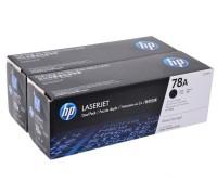 HP CE278AF (78A) тонер-картридж черный двойная упаковка