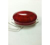 Строб лампа накладная ксеноновая красная
