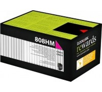 LEXMARK 80C8HM0 (808HM) тонер картридж пурпурный