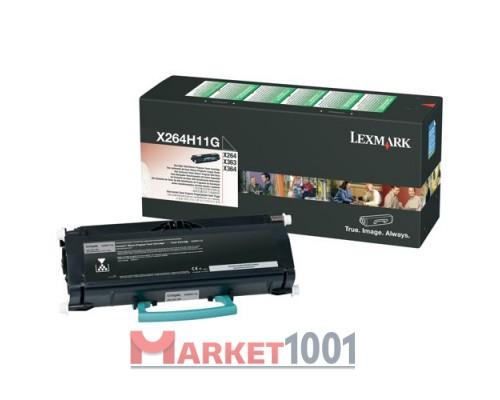 Картридж LEXMARK X264H11G.