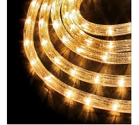Дюралайт светодиодный круглый 2-х проводной 12V белый теплый
