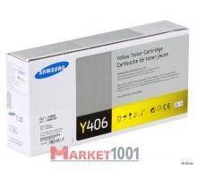 SAMSUNG CLT-Y406S/SEE тонер-картридж желтый