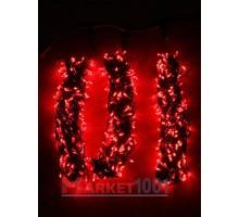 "Гирлянда на деревья Клип лайт ""Спайдер"" 3x20 м. (LED) с контроллером красная"