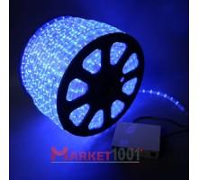 Дюралайт светодиодный круглый 2-х проводной 24V синий