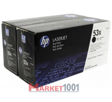 HP Q7553XD (53X) тонер-картридж черный двойная упаковка