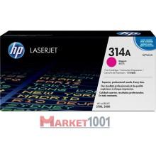 HP Q7563A (314A) тонер-картридж пурпурный