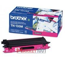 Brother TN-135M тонер-картридж пурпурный