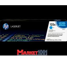HP CB541A (125A) тонер-картридж голубой