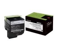 LEXMARK 80C8XK0 / 80C8XKE (808XK) тонер картридж черный