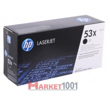 HP Q7553X (53X) тонер-картридж черный