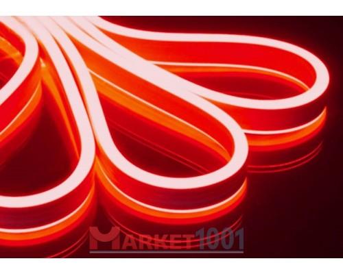 Неон флекс светодиодный гибкий красный двухсторонний