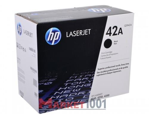 HP Q5942A (42A) тонер-картридж черный