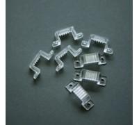 Клипса монтажная для плоского дюралайта 11x18 мм.