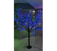 Светодиодное дерево Сакура 1,9x1,5 м. 24V синий