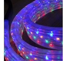 Дюралайт светодиодный плоский 3-х проводной мульти