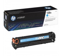 HP CE321A (128A) тонер-картридж голубой