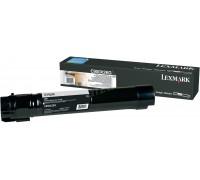 LEXMARK C950X2KG тонер-картридж черный