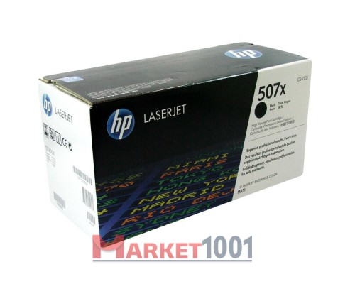 HP CE400X (507X) тонер-картридж черный