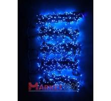"Гирлянда на деревья Клип лайт ""Спайдер"" 5x20 м. FLASH синяя с белым мерцающим диодом"