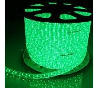 Дюралайт светодиодный плоский 3-х проводной зеленый