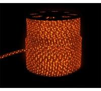 Дюралайт светодиодный круглый 3-х проводной желтый