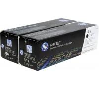 HP CF210XD (131X) тонер-картридж черный двойная упаковка