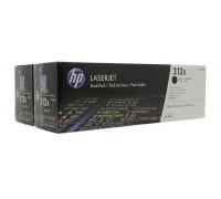 HP CF380XD (312X) тонер-картридж черный двойная упаковка