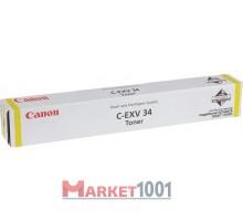 Canon C-EXV34 тонер желтый (3785B002)