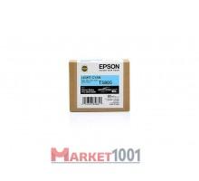 C13T580500 EPSON T5805 Картридж светло-голубой