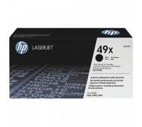 HP Q5949X (49X) тонер-картридж черный