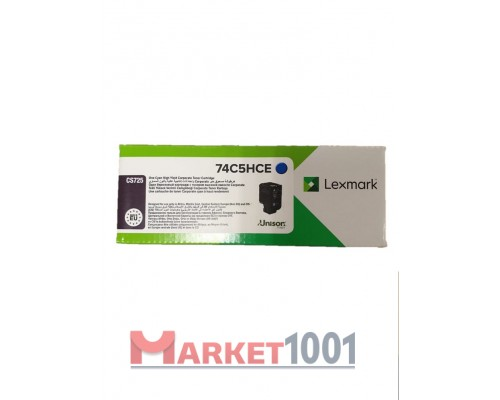 LEXMARK 74C5SME / 74C0S30 тонер картридж пурпурный