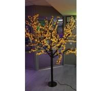 Светодиодное дерево Сакура 1,9x1,5 м. 24V желтый
